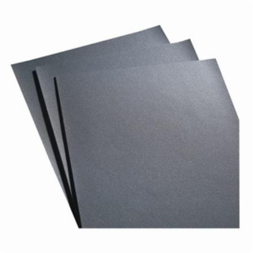 Norton® 66261101255 K622 Coated Sandpaper Sheet, 11 in L x 9 in W, 50 Grit, Coarse Grade, Emery Abrasive, Cloth Backing