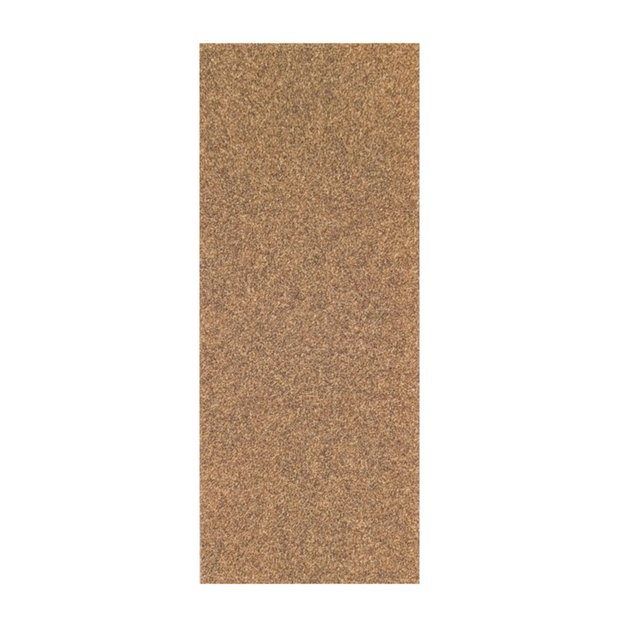 Norton® Adalox® 66261102895 A213 Coated Sandpaper Cut Sheet, 9 in L x 3-2/3 in W, P120 Grit, Fine Grade, Aluminum Oxide Abrasive, Paper Backing