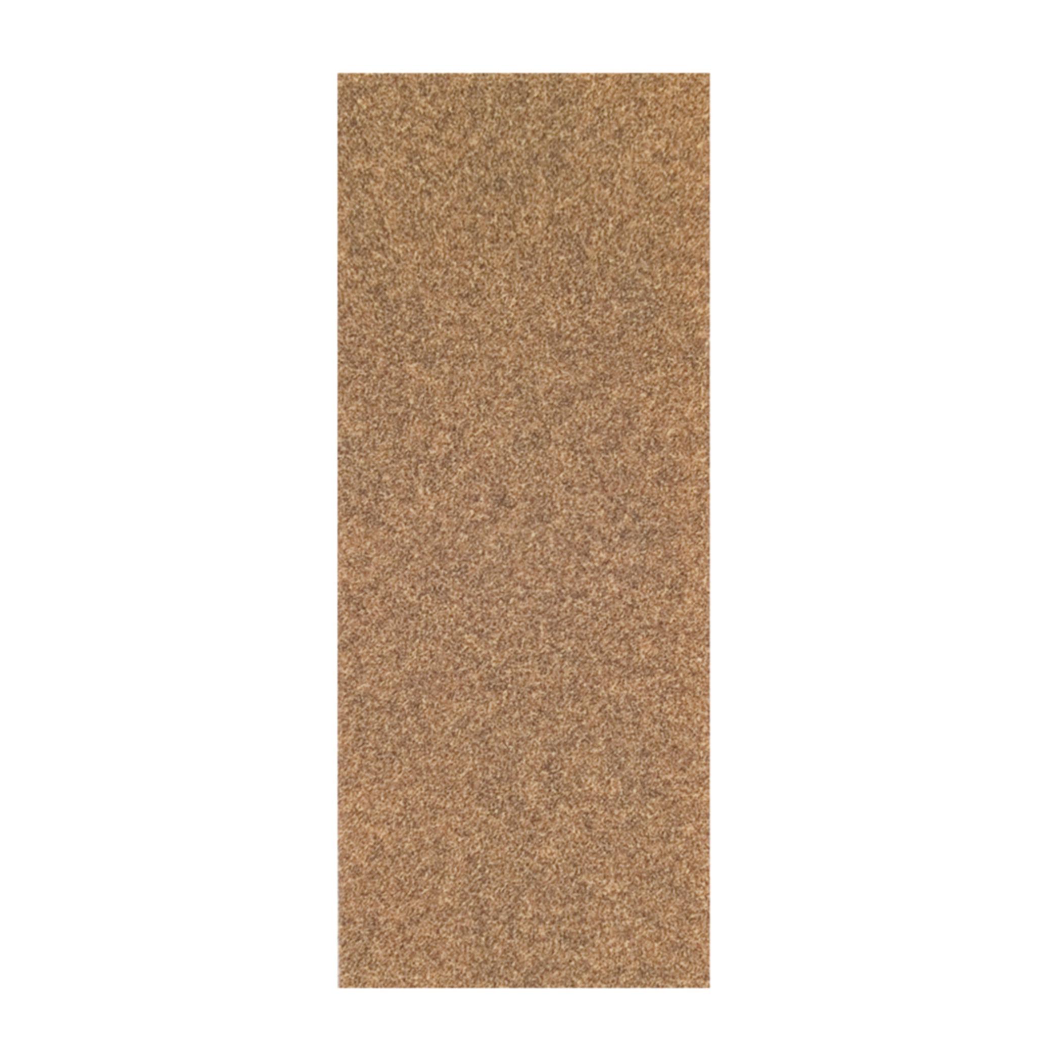 Norton® Adalox® 66261102920 A213 Coated Sandpaper Cut Sheet, 9 in L x 3-2/3 in W, P80 Grit, Coarse Grade, Aluminum Oxide Abrasive, Paper Backing
