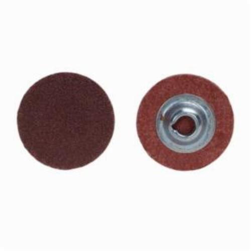 Norton® Metalite® 66261121028 R228 Coated Abrasive Quick-Change Disc, 2 in Dia, 240 Grit, Very Fine Grade, Aluminum Oxide Abrasive, Type TR (Type III) Attachment