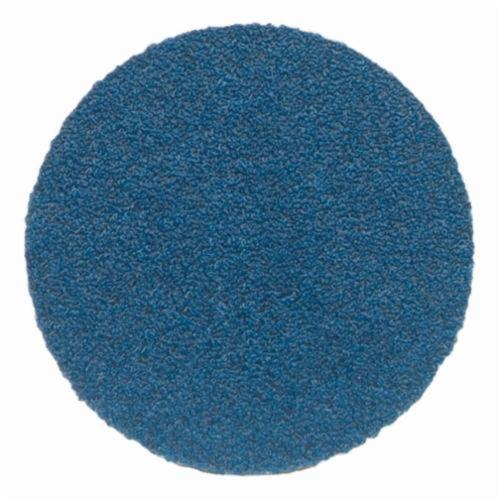 Norton® BlueFire® 66261123591 H875P Open Coated Abrasive Hook and Loop Disc, 8 in Dia, 80 Grit, Coarse Grade, Zirconia Alumina Abrasive, Paper Backing