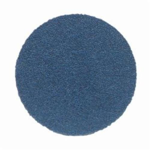 Norton® BlueFire® 66261123588 H875P Open Coated Abrasive Hook and Loop Disc, 6 in Dia, 80 Grit, Coarse Grade, Zirconia Alumina Abrasive, Paper Backing