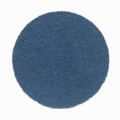 Norton® BlueFire® 66261123590 H875P Open Coated Abrasive Hook and Loop Disc, 6 in Dia, 36 Grit, Extra Coarse Grade, Zirconia Alumina Abrasive, Paper Backing