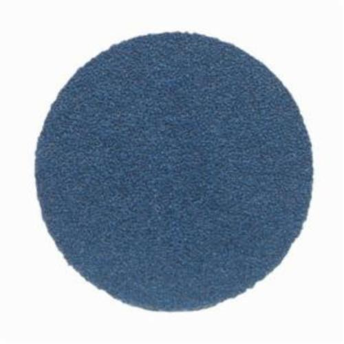 Norton® BlueFire® 66261123593 H875P Open Coated Abrasive Hook and Loop Disc, 8 in Dia, 36 Grit, Extra Coarse Grade, Zirconia Alumina Abrasive, Paper Backing