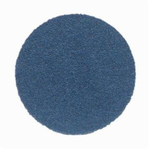 Norton® NorZon® Plus® 66261123604 H875 Coated Abrasive Disc, 6 in Dia, 36 Grit, Extra Coarse Grade, Zirconia Alumina Abrasive, Paper Backing