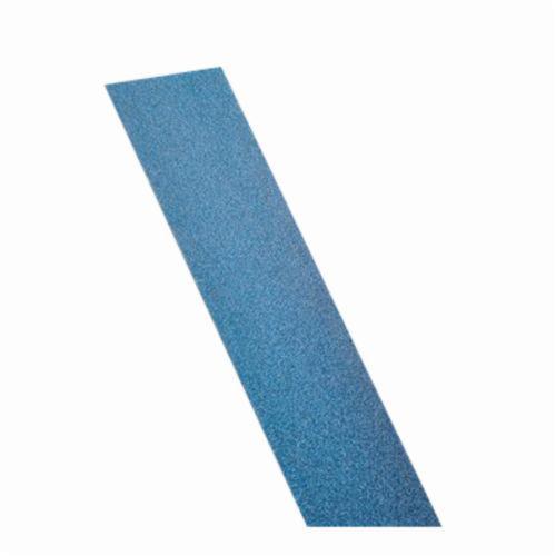 Norton® BlueFire® 66261123620 H875P Clip-On Non-PSA Coated File Strip, 17-1/2 in L x 2-3/4 in W, 80 Grit, Coarse Grade, Zirconia Alumina Abrasive, Paper Backing