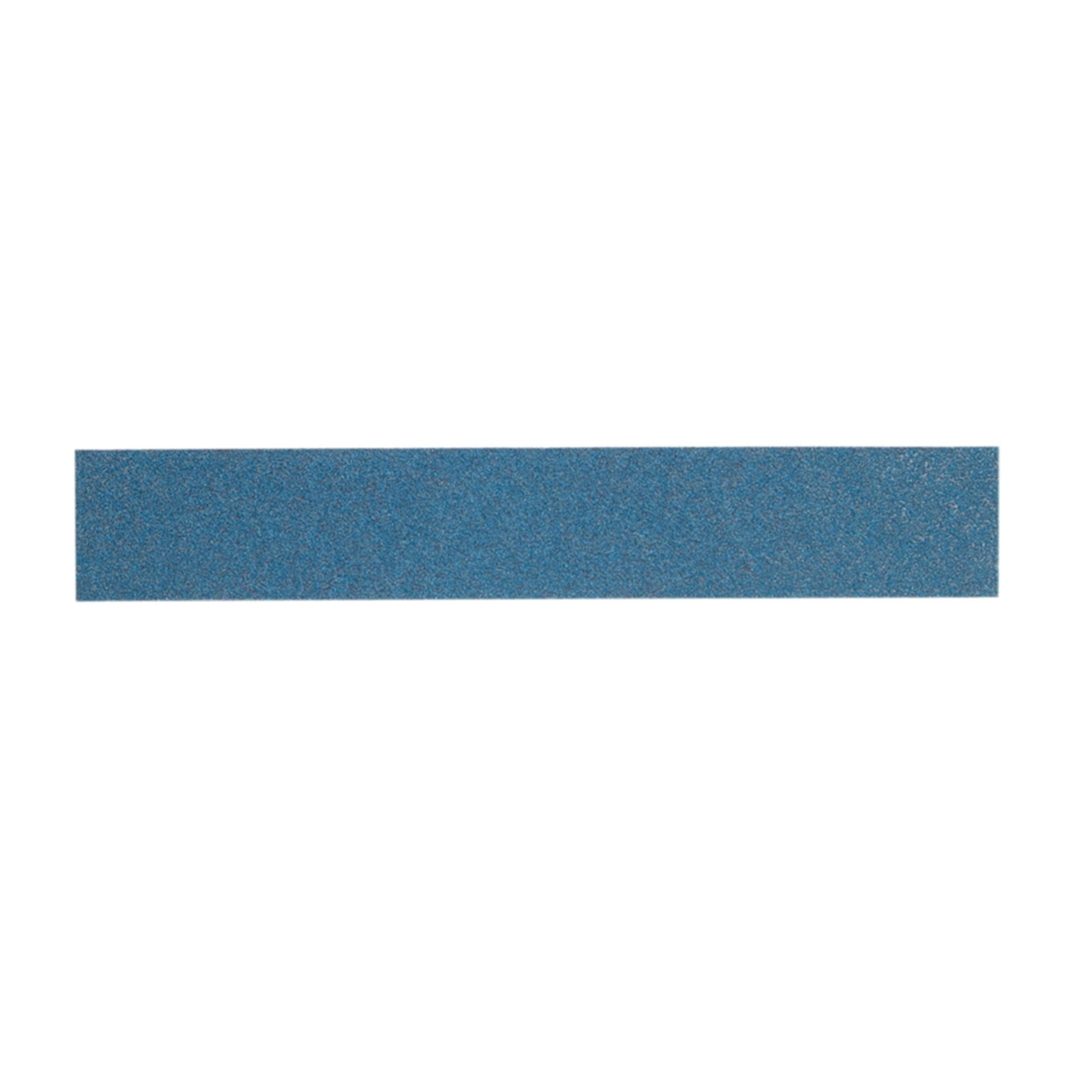 Norton® BlueFire® 66261126511 H875P Clip-On Non-PSA Coated File Strip, 17-1/2 in L x 2-3/4 in W, 180 Grit, Fine Grade, Zirconia Alumina Abrasive, Paper Backing