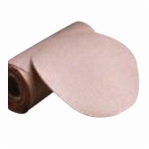 Norton® Adalox® 66261127477 A270 Hook and Loop Disc, 5 in Dia, P220 Grit, Very Fine Grade, Aluminum Oxide Abrasive, Latex Paper Backing