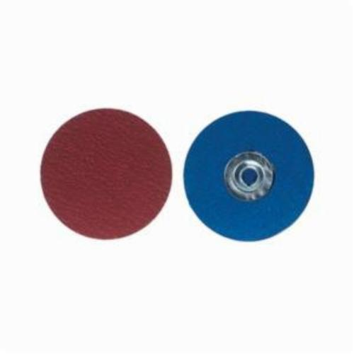 Norton® Red Heat® Speed-Lok® 66261129338 SG F944 Close Coated Quick-Change Abrasive Disc, 3 in Dia, 36 Grit, Extra Coarse Grade, Ceramic Alumina Abrasive, Type TS (Type II) Attachment
