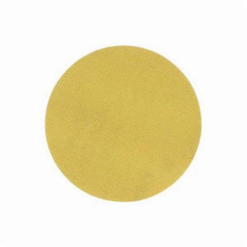 Norton® No-Fil® Adalox® 66261130241 A290 Hook and Loop Disc, 5 in Dia, P150 Grit, Fine Grade, Aluminum Oxide Abrasive, Latex Paper Backing