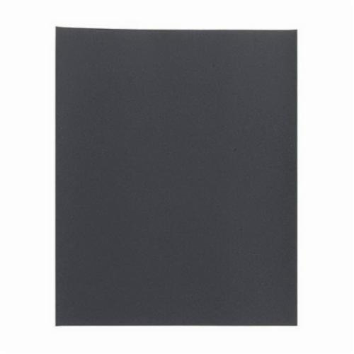 Norton® TufBak® Durite® 66261130334 T461 Coated Sanding Sheet, 11 in L x 9 in W, 600 Grit, Ultra Fine Grade, Silicon Carbide Abrasive, Paper Backing