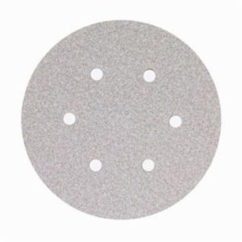 Norton® No-Fil® Adalox® 66261131584 A275OP Hook and Loop Disc, 6 in Dia, P1500 Grit, Ultra Fine Grade, Aluminum Oxide Abrasive, Latex Paper Backing