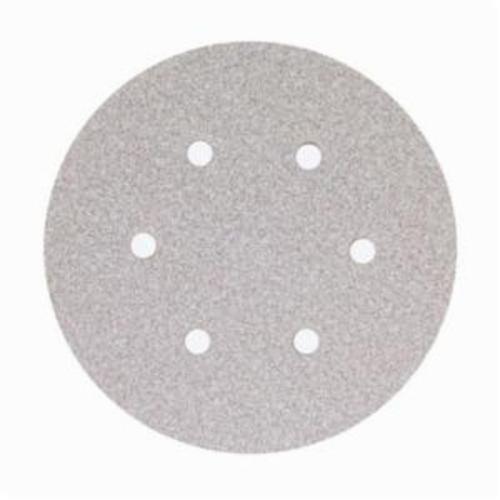 Norton® No-Fil® Adalox® 66261131588 A275OP Hook and Loop Disc, 6 in Dia, P600 Grit, Ultra Fine Grade, Aluminum Oxide Abrasive, Latex Paper Backing