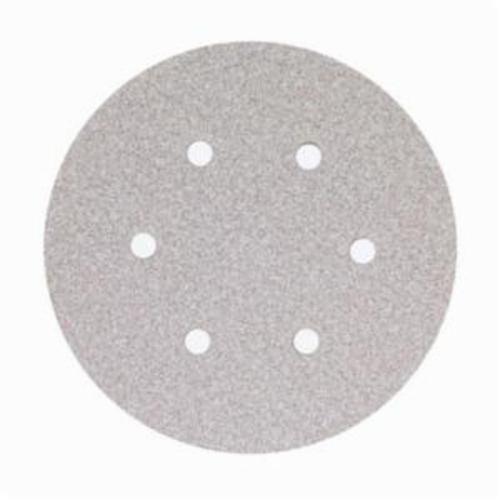 Norton® No-Fil® Adalox® 66261131590 A275OP Hook and Loop Disc, 6 in Dia, P400 Grit, Super Fine Grade, Aluminum Oxide Abrasive, Latex Paper Backing