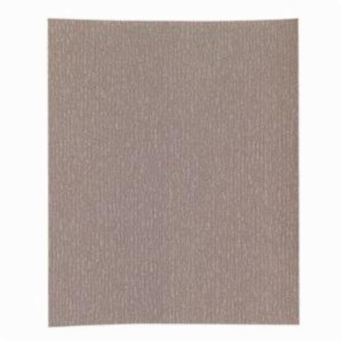 Norton® Adalox® No-Fil® 66261131620 A275OP Premium Coated Sandpaper Sheet, 11 in L x 9 in W, P1000 Grit, Ultra Fine Grade, Aluminum Oxide Abrasive, Anti-Loading Paper Backing