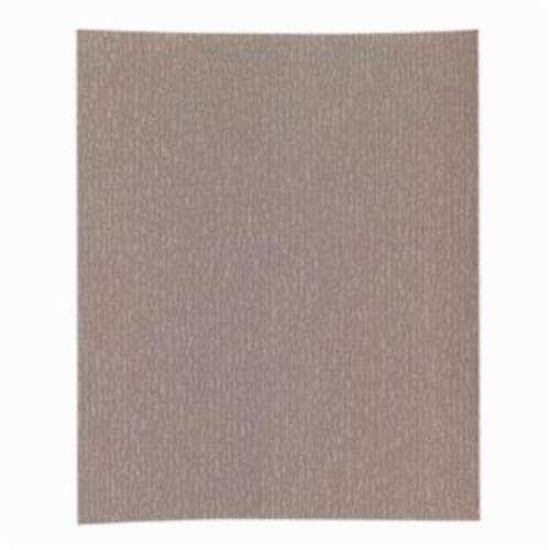 Norton® Adalox® No-Fil® 66261131623 A275OP Premium Coated Sandpaper Sheet, 11 in L x 9 in W, P500 Grit, Super Fine Grade, Aluminum Oxide Abrasive, Anti-Loading Paper Backing