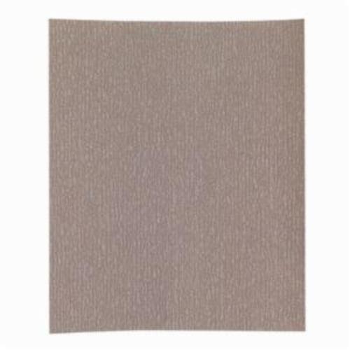 Norton® Adalox® No-Fil® 66261131632 A275OP Premium Coated Sandpaper Sheet, 11 in L x 9 in W, P120 Grit, Medium Grade, Aluminum Oxide Abrasive, Anti-Loading Paper Backing
