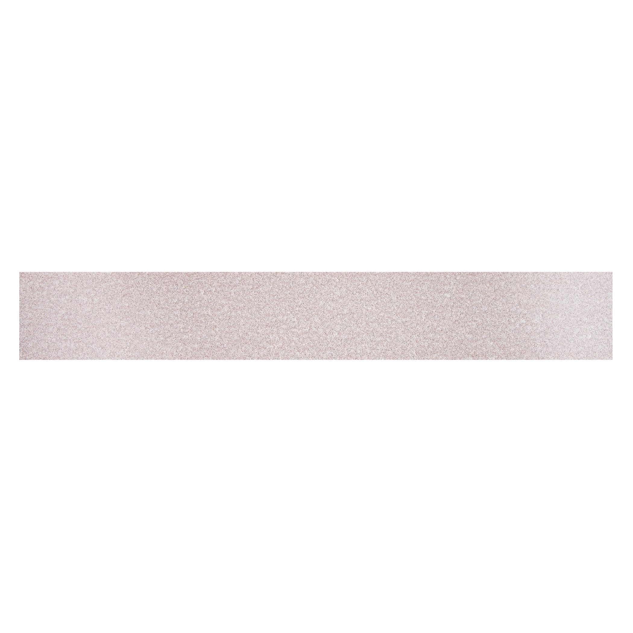Norton® 66261131648 A275OP Non-PSA Coated File Strip, 17-1/2 in L x 2-3/4 in W, P180 Grit, Fine Grade, Aluminum Oxide Abrasive, Anti-Loading Paper Backing