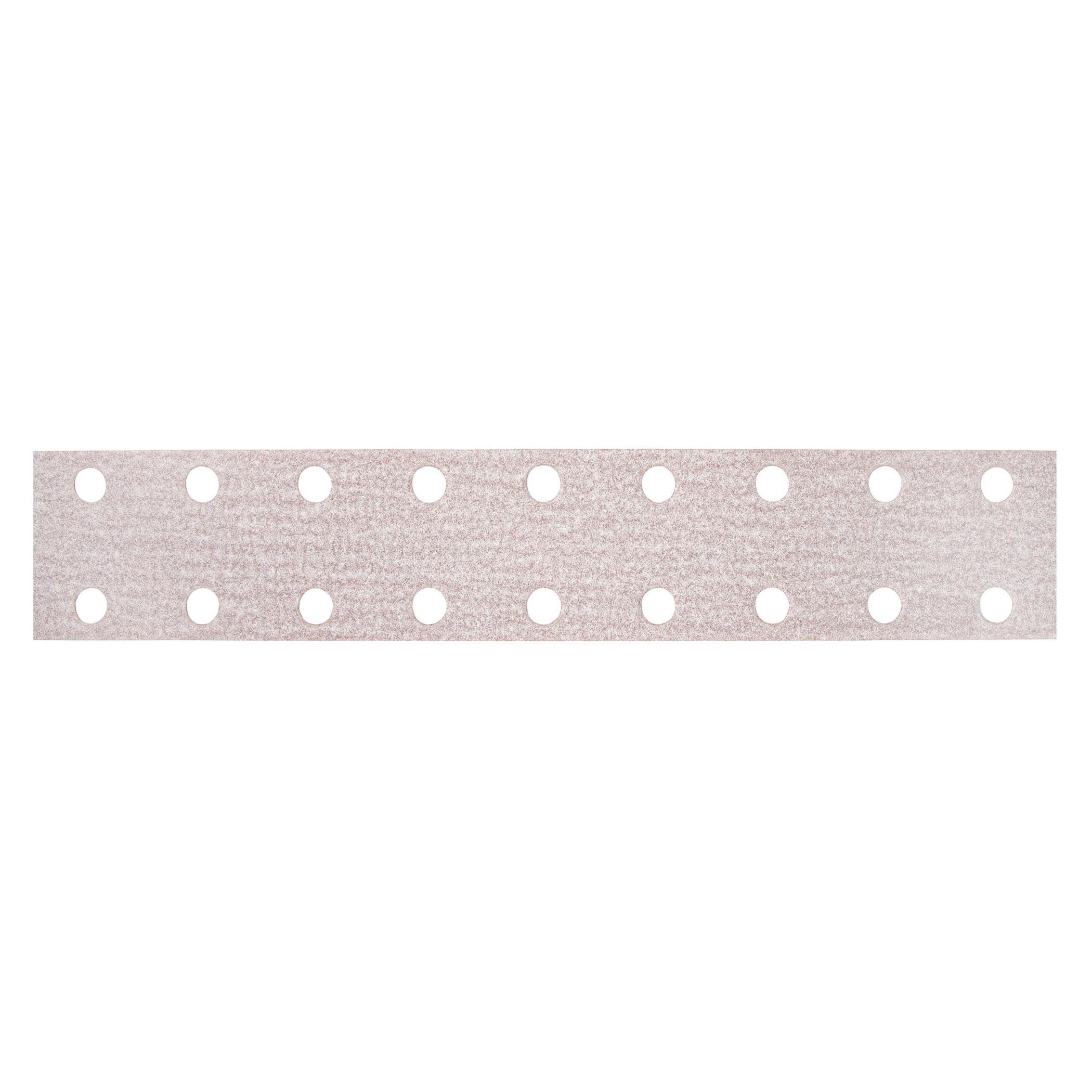 Norton® 66261131654 A275OP Vacuum Coated File Strip, 16 in L x 2-3/4 in W, P180 Grit, Fine Grade, Aluminum Oxide Abrasive, Anti-Loading Paper Backing