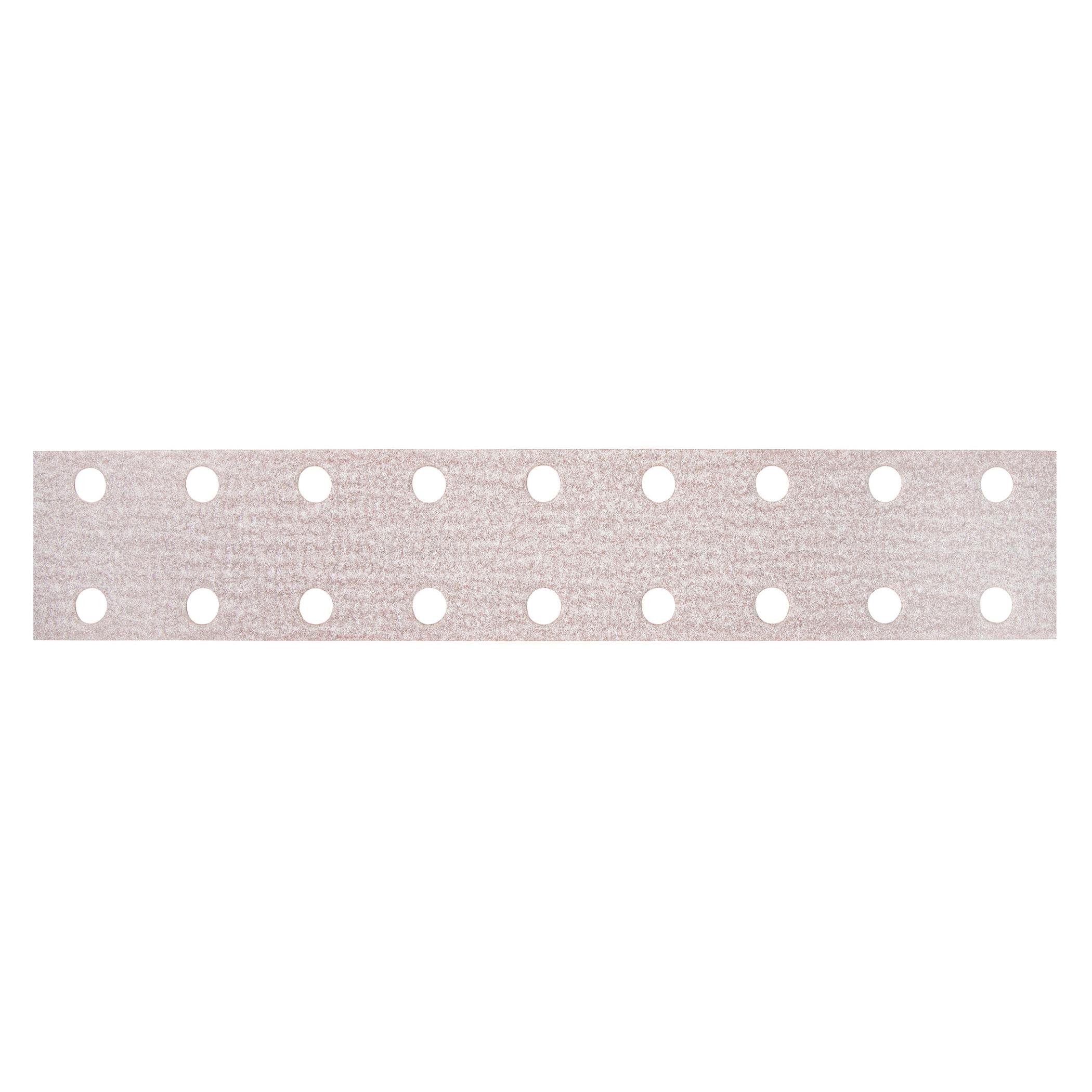 Norton® 66261131656 A275OP Vacuum Coated File Strip, 16 in L x 2-3/4 in W, P120 Grit, Medium Grade, Aluminum Oxide Abrasive, Anti-Loading Paper Backing