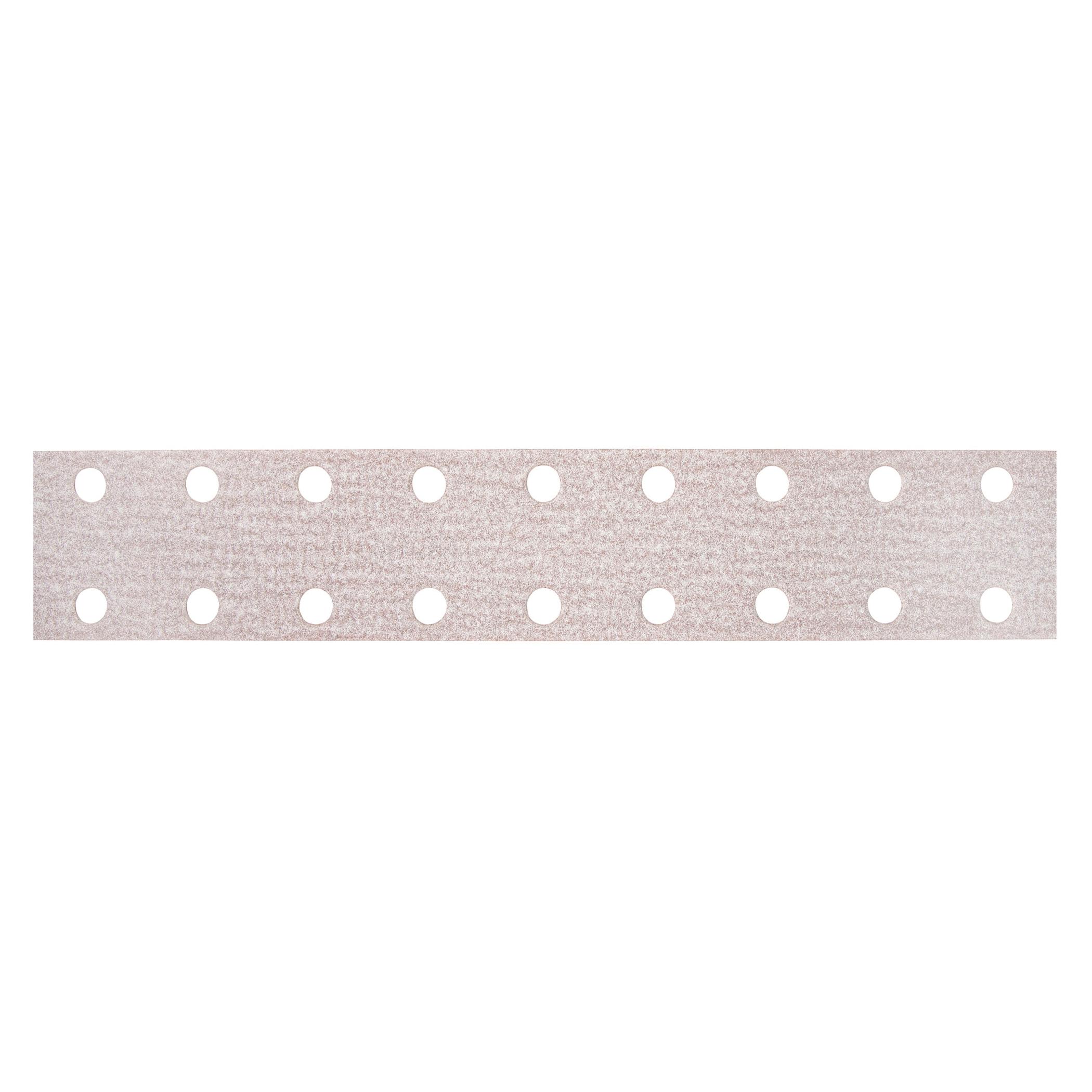 Norton® 66261131657 A275OP Vacuum Coated File Strip, 16 in L x 2-3/4 in W, P100 Grit, Medium Grade, Aluminum Oxide Abrasive, Anti-Loading Paper Backing