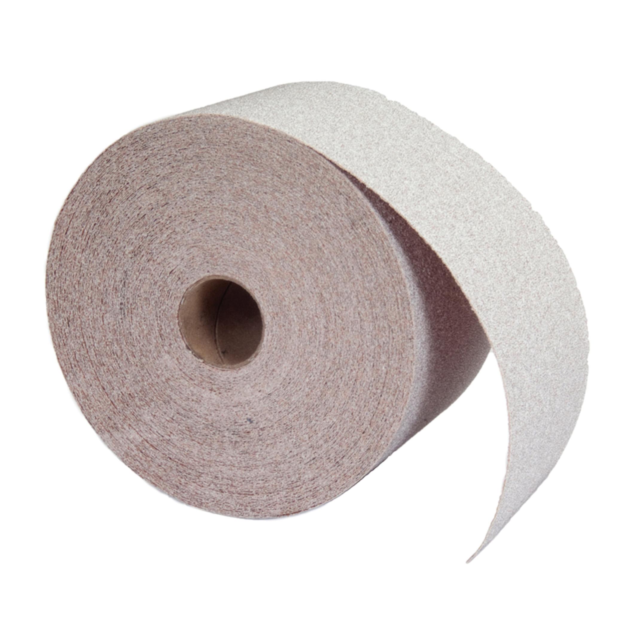 Norton® 66261131694 OP A275 Coated Abrasive Roll, 10 yd L x 4-1/2 in W, 150 Grit, Fine Grade, Aluminum Oxide Abrasive, Anti-Loading Paper Backing