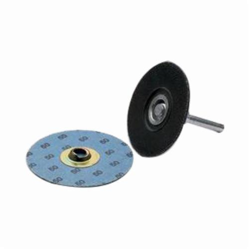 Norton® BlueFire® 66261137343 R884P Coated Abrasive Quick-Change Disc, 4 in Dia, 60 Grit, Coarse Grade, Zirconia Alumina Abrasive, Type TS (Type II) Attachment