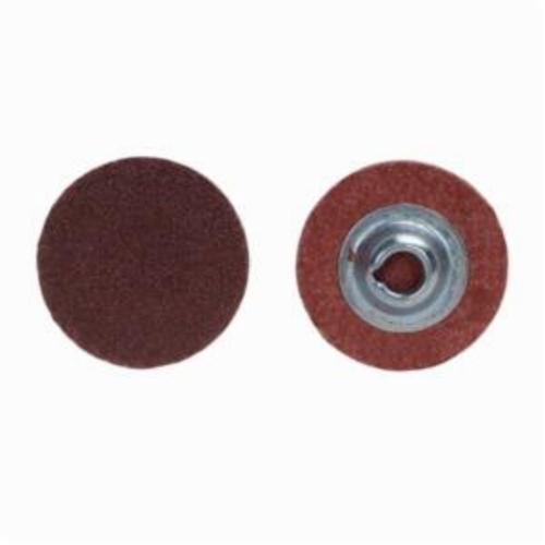Norton® Metalite® 66261138095 R228 Coated Abrasive Quick-Change Disc, 1 in Dia, 50 Grit, Coarse Grade, Aluminum Oxide Abrasive, Type TS (Type II) Attachment