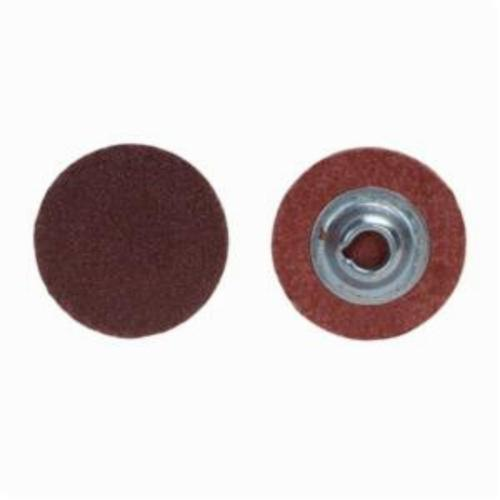 Norton® Metalite® 66261138130 R228 Coated Abrasive Quick-Change Disc, 1-1/2 in Dia, 40 Grit, Extra Coarse Grade, Aluminum Oxide Abrasive, Type TS (Type II) Attachment