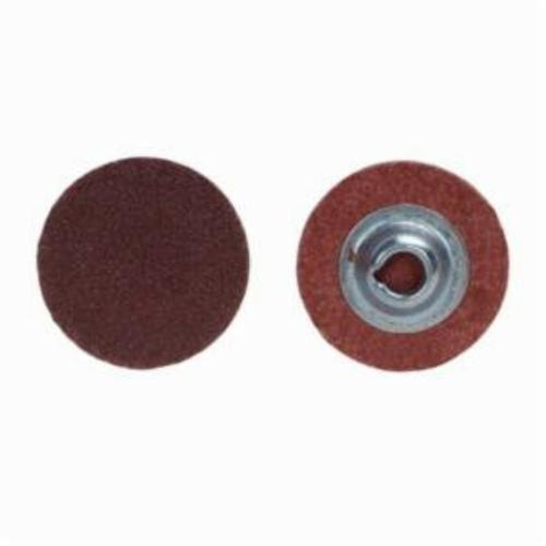 Norton® Metalite® 66261138135 R228 Coated Abrasive Quick-Change Disc, 1-1/2 in Dia, 36 Grit, Extra Coarse Grade, Aluminum Oxide Abrasive, Type TS (Type II) Attachment