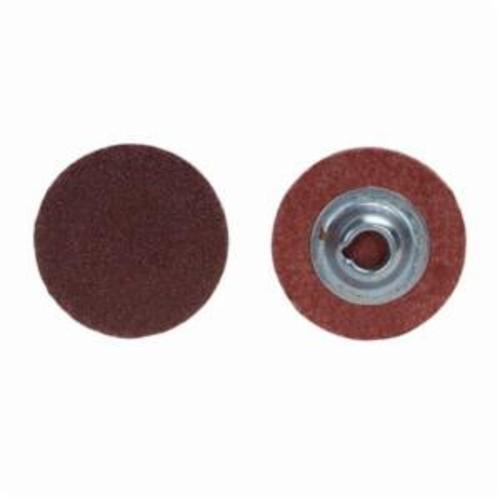 Norton® Metalite® 66261138172 R228 Coated Abrasive Quick-Change Disc, 3 in Dia, 240 Grit, Very Fine Grade, Aluminum Oxide Abrasive, Type TS (Type II) Attachment