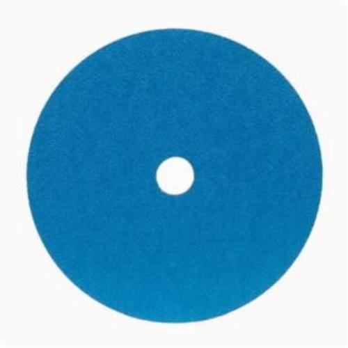 Norton® BlueFire® 66623377278 F826P Heavy Duty Coated Abrasive Disc, 4-1/2 in Dia, 7/8 in Center Hole, 60 Grit, Coarse Grade, Zirconia Alumina Abrasive, Center Mount Attachment