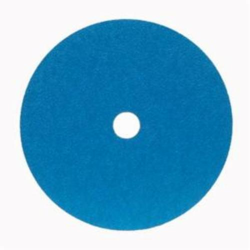 Norton® BlueFire® 66261138582 F826P Heavy Duty Coated Abrasive Disc, 9-1/8 in Dia, 7/8 in Center Hole, 50 Grit, Coarse Grade, Zirconia Alumina Abrasive, Center Mount Attachment