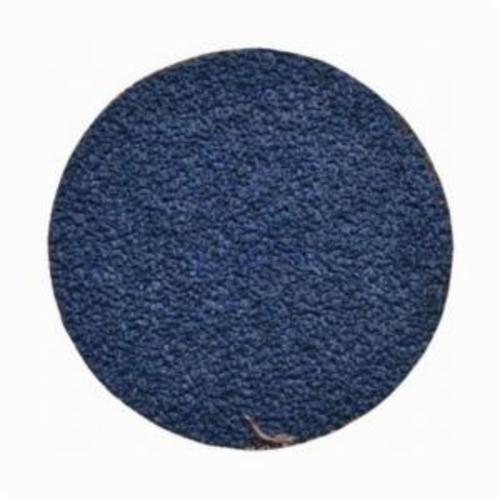 Norton® BlueFire® 66261138635 R884P Coated Abrasive Quick-Change Disc, 2 in Dia, 50 Grit, Coarse Grade, Zirconia Alumina Abrasive, Type TS (Type II) Attachment