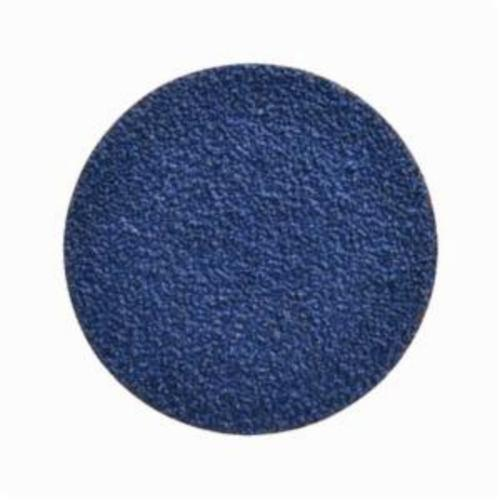 Norton® BlueFire® 66261138670 R884P Coated Abrasive Quick-Change Disc, 2 in Dia, 50 Grit, Coarse Grade, Zirconia Alumina Abrasive, Type TR (Type III) Attachment