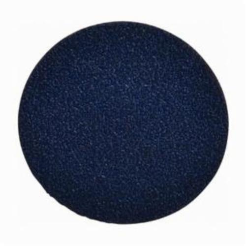 Norton® BlueFire® 66261138673 R884P Coated Abrasive Quick-Change Disc, 3 in Dia, 50 Grit, Coarse Grade, Zirconia Alumina Abrasive, Type TR (Type III) Attachment