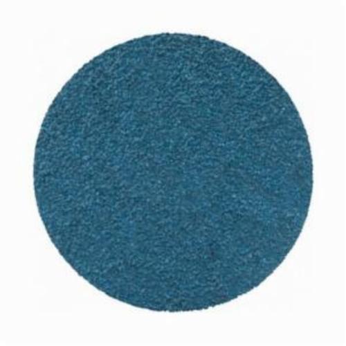 Norton® BlueFire® 66261138674 R884P Coated Abrasive Quick-Change Disc, 3 in Dia, 36 Grit, Extra Coarse Grade, Zirconia Alumina Abrasive, Type TR (Type III) Attachment