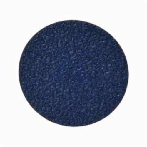 Norton® BlueFire® 66261138675 R884P Coated Abrasive Quick-Change Disc, 3 in Dia, 24 Grit, Extra Coarse Grade, Zirconia Alumina Abrasive, Type TR (Type III) Attachment