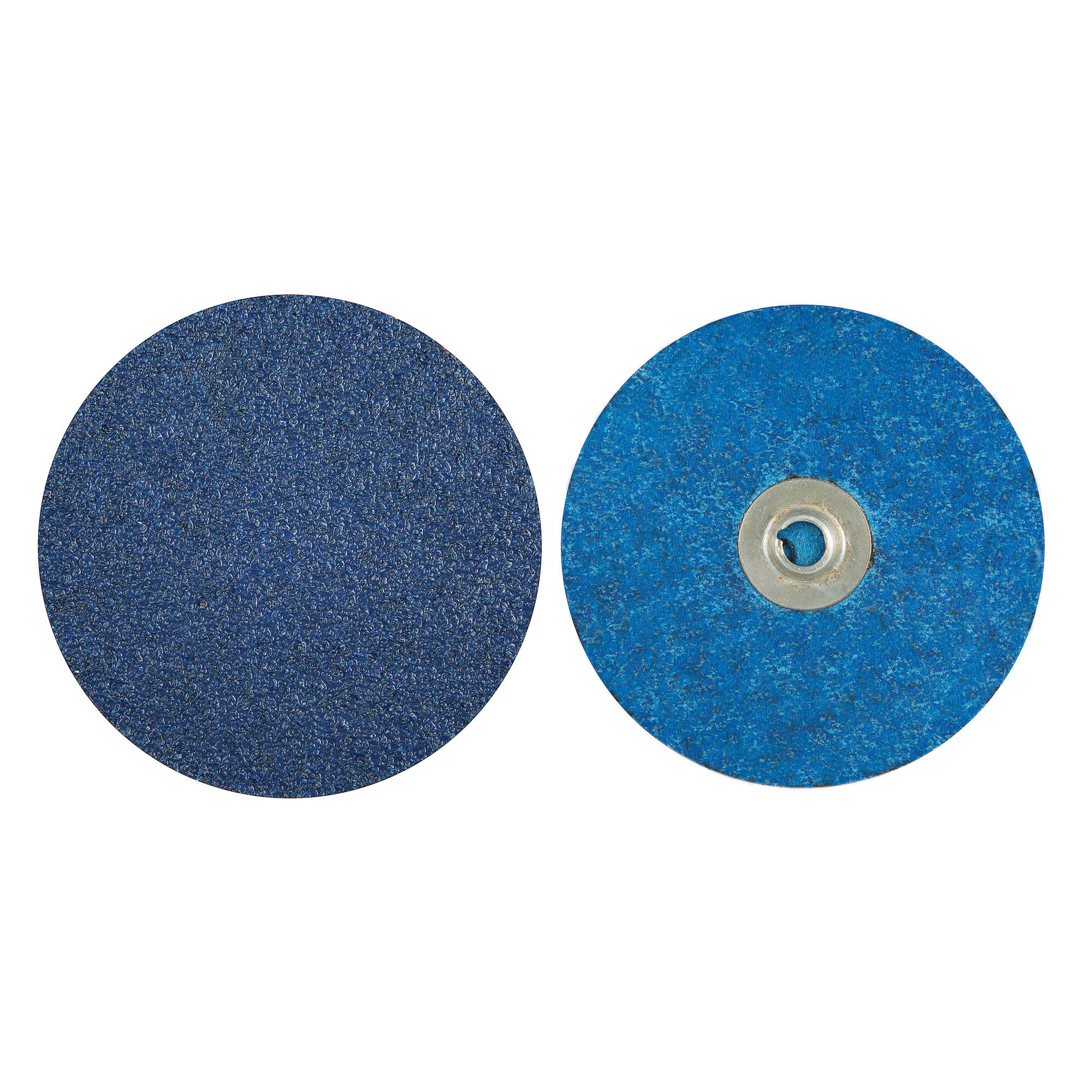 Norton® BlueFire® 66261138679 R884P Coated Abrasive Quick-Change Disc, 4 in Dia, 80 Grit, Coarse Grade, Zirconia Alumina Abrasive, Type TS (Type II) Attachment