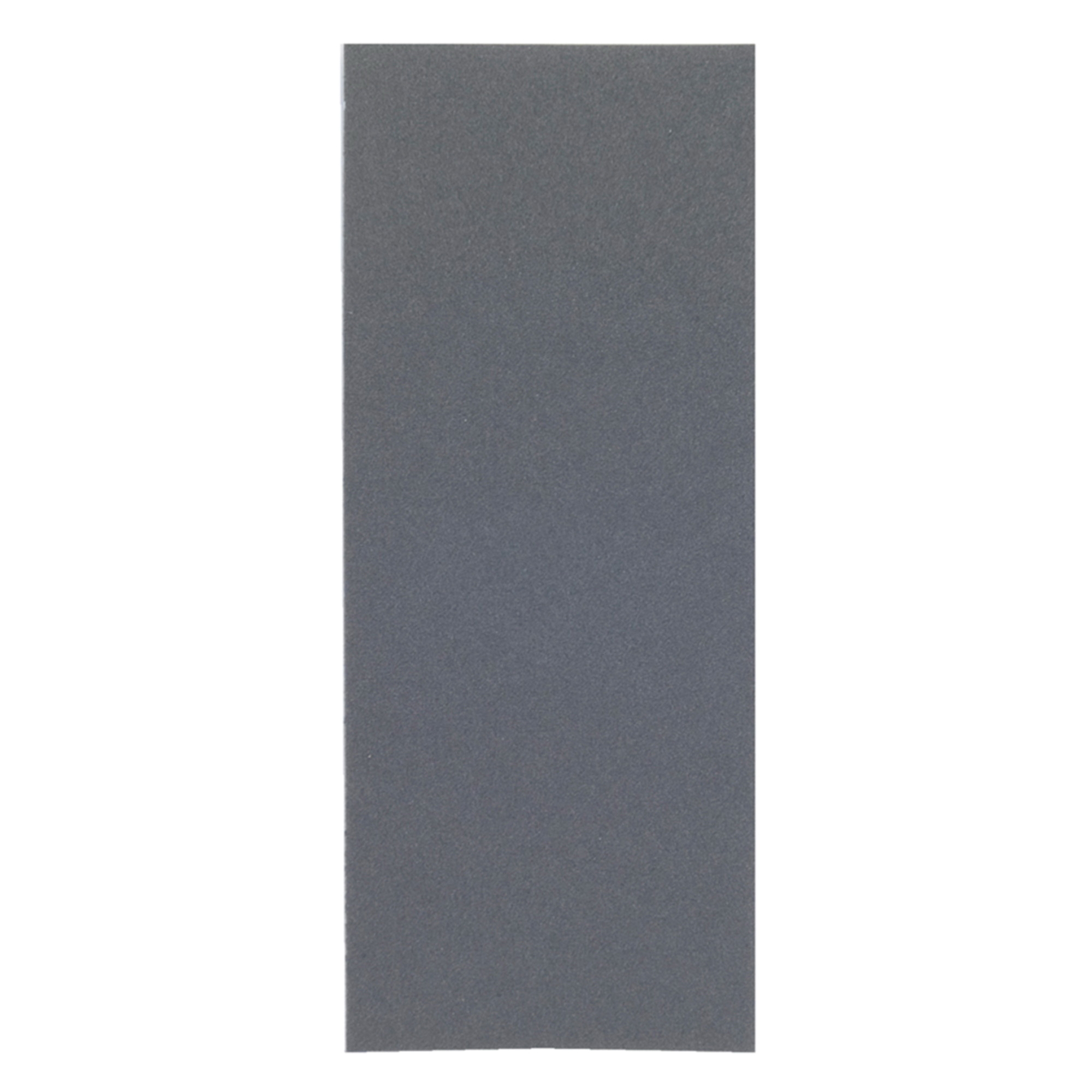 Norton® Blue-Bak™ 66261139352 T414 Coated Sandpaper Sheet, 9 in L x 3-2/3 in W, 600 Grit, Ultra Fine Grade, Silicon Carbide Abrasive, Paper Backing