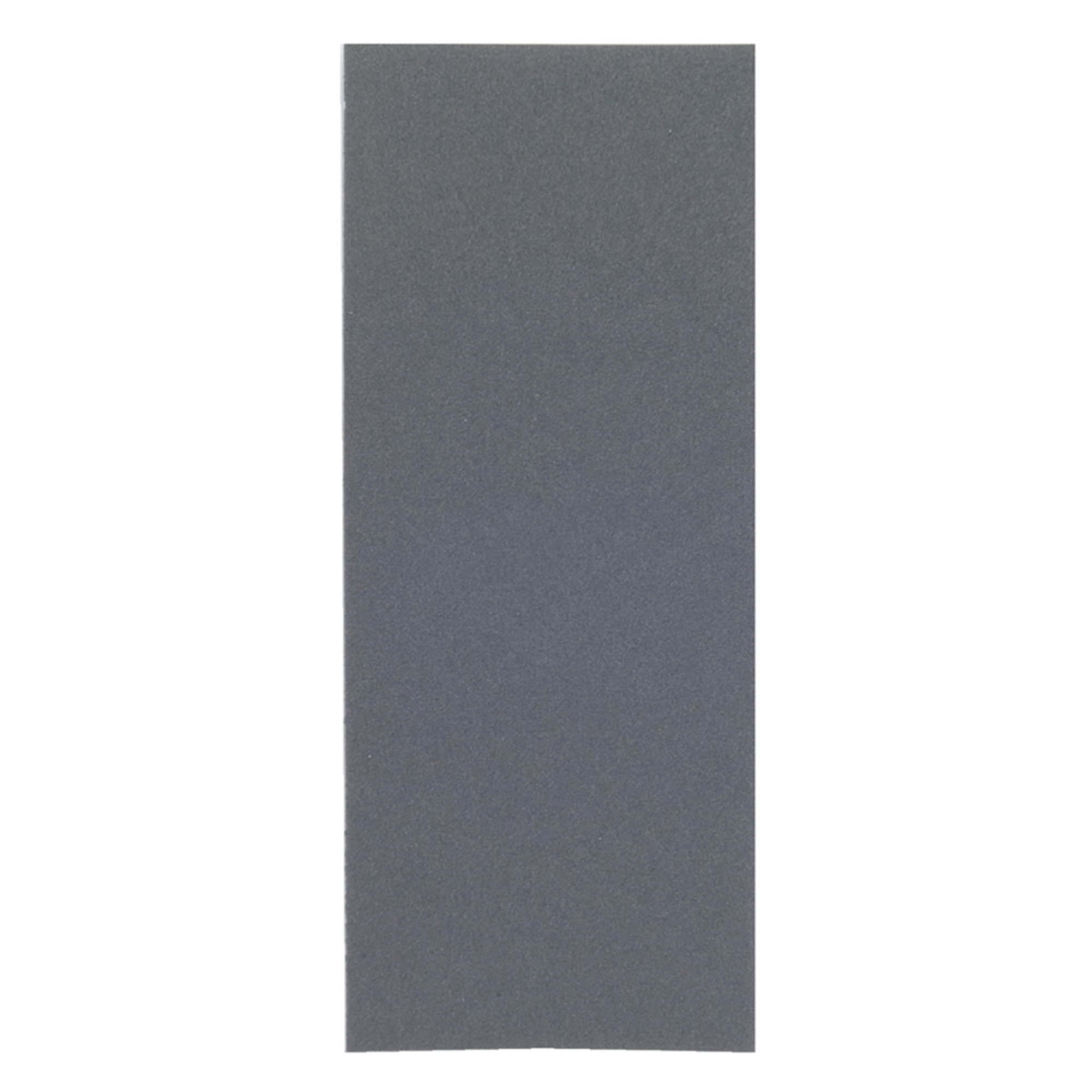 Norton® Blue-Bak™ 66261139354 T414 Coated Sandpaper Sheet, 9 in L x 3-2/3 in W, 400 Grit, Super Fine Grade, Silicon Carbide Abrasive, Paper Backing