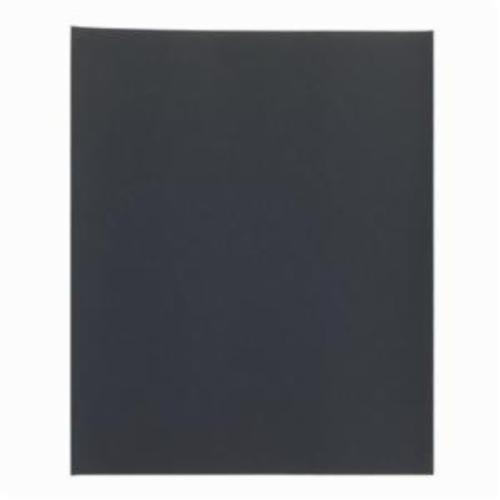 Norton® Blue-Bak™ 66261139363 T414 Coated Sandpaper Sheet, 11 in L x 9 in W, 360 Grit, Super Fine Grade, Silicon Carbide Abrasive, Paper Backing