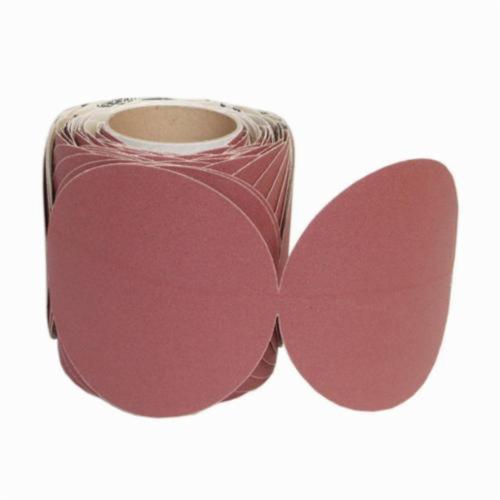Norton® 66261149876 H920 PSA Coated Abrasive Disc Roll, 6 in Dia Disc, 80 Grit, Coarse Grade, Ceramic Alumina Abrasive, Paper Backing
