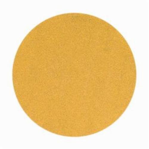 Norton® No-Fil® Adalox® 66261149899 A290 Hook and Loop Disc, 5 in Dia, P400 Grit, Super Fine Grade, Aluminum Oxide Abrasive, Latex Paper Backing
