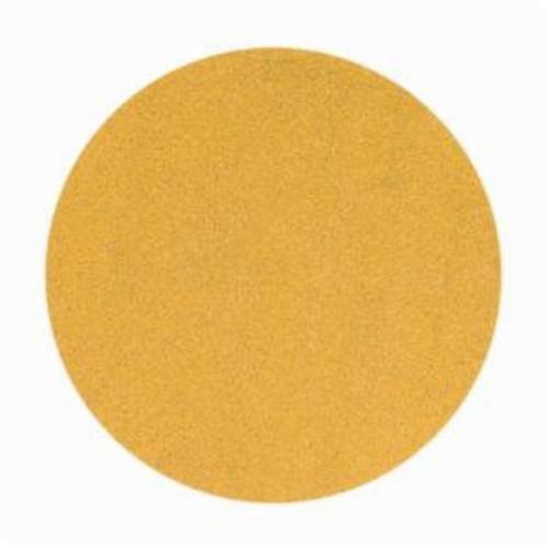 Norton® No-Fil® Adalox® 66261149909 A290 Hook and Loop Disc, 6 in Dia, P320 Grit, Extra Fine Grade, Aluminum Oxide Abrasive, Latex Paper Backing