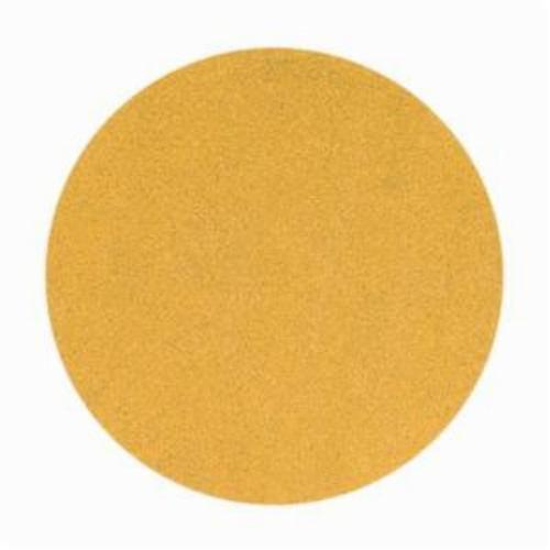 Norton® No-Fil® Adalox® 66261149912 A290 Hook and Loop Disc, 6 in Dia, P180 Grit, Fine Grade, Aluminum Oxide Abrasive, Latex Paper Backing