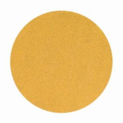Norton® No-Fil® Adalox® 66261149914 A290 Hook and Loop Disc, 6 in Dia, P120 Grit, Medium Grade, Aluminum Oxide Abrasive, Latex Paper Backing