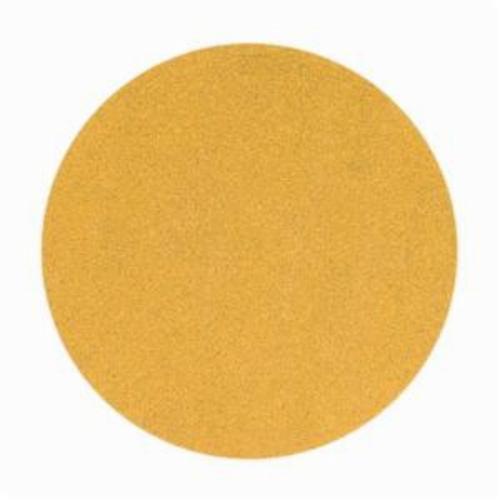 Norton® No-Fil® Adalox® 66261149915 A290 Hook and Loop Disc, 6 in Dia, P100 Grit, Medium Grade, Aluminum Oxide Abrasive, Latex Paper Backing