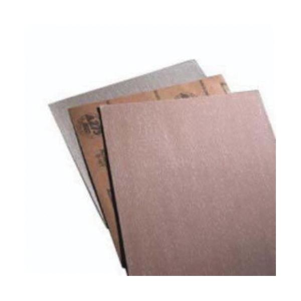 Norton® No-Fil® 66261131647 A275OP Non-PSA Coated Sandpaper Sheet, 17-1/2 in L x 2-3/4 in W, P220 Grit, Very Fine Grade, Aluminum Oxide Abrasive, Anti-Loading Paper Backing