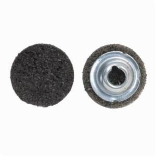 Norton® Vortex® Rapid Prep™ 66623325003 Non-Woven Abrasive Quick-Change Disc, 1 in Dia, 40 Grit, Extra Coarse Grade, Aluminum Oxide Abrasive, Type TS (Type II) Attachment
